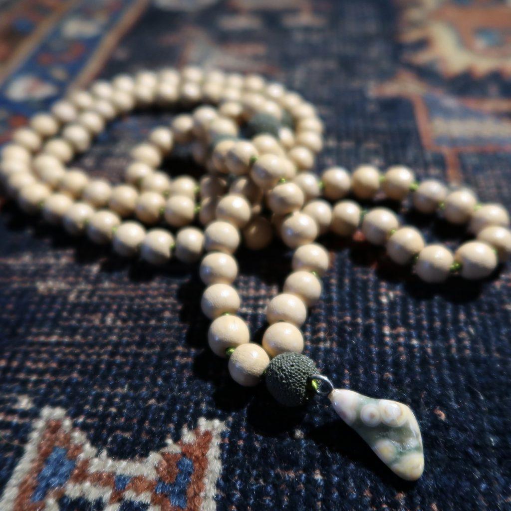 yoga mala meditatie japa sieraad